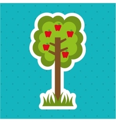 Tree isolated design vector