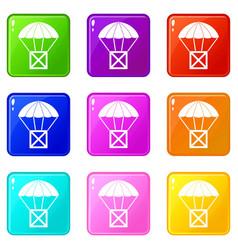 Balloon set 9 vector