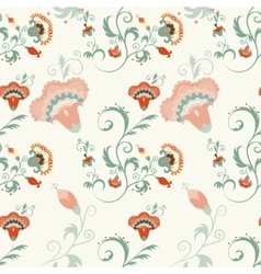 Traditional Asian seamless detailed pattern vector image