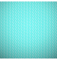 Abstract aqua elegant seamless pattern blue and vector