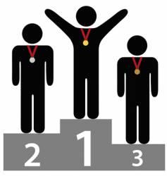 awards ceremony vector image