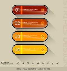 Modern user interface vector