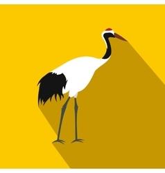 Crane icon flat style vector image