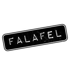 Falafel rubber stamp vector