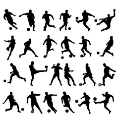 football players vector image