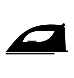 Iron the black color icon vector