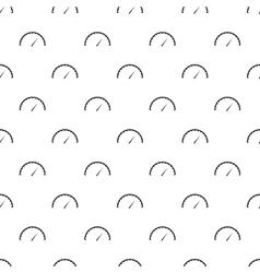 Factory speedometer pattern simple style vector