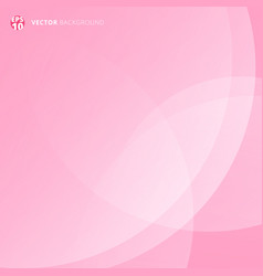 pink smooth twist light lines for valentines day vector image vector image