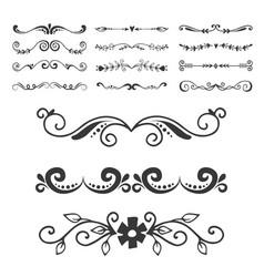 Text separator decoratice divider book typography vector