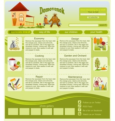 Site on housekeeping vector