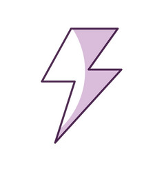 Fantasy thunder ray icon vector