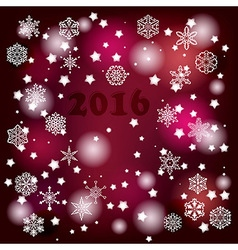 2016 winter background vector