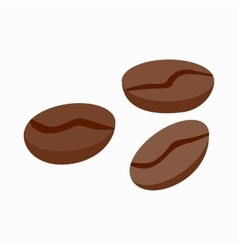 Coffee beans icon isometric 3d style vector
