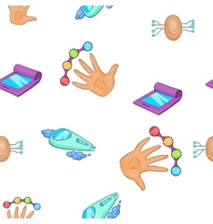 Innovations pattern cartoon style vector