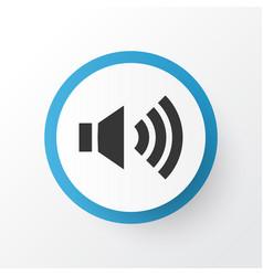 Volume up icon symbol premium quality isolated vector