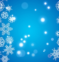 Snowflake pattern christmas and new year concept vector