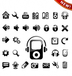 Icon icons vector