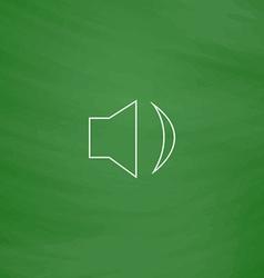 Speaker computer symbol vector