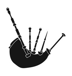 Bagpipes from a cow s stomachthe national musical vector