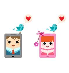 Love twitter vector