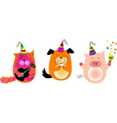 animal party vector image