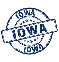 Iowa stamp vector