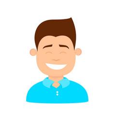 kid happy boy vector image