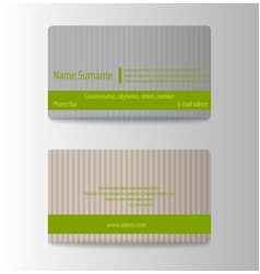 modern business card print template trending vector image vector image