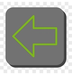 Arrow left rounded square button vector