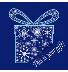 Your gift vector image