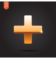 cross icon Eps10 vector image