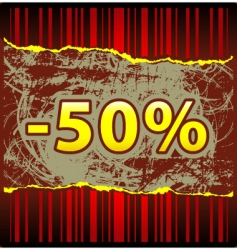Hot offer vector
