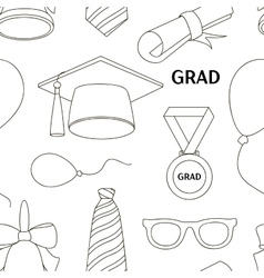 Graduation elements set pattern vector image