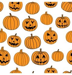 Halloween print seamless pattern with vector