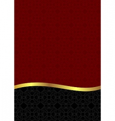Luxury background card for design vector