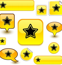 Star signs vector image vector image