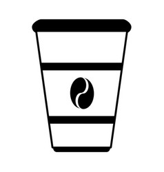 Disposable cup coffee related icon image vector