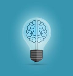 Bulb brain vector