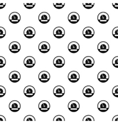 Electronic speedometer pattern simple style vector