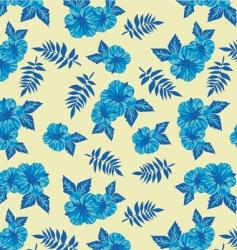 hawaii wallpaper vector image