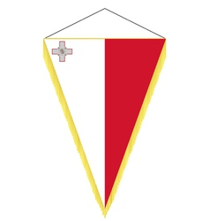 National flag of malta vector