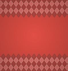 Vintage seamless border background vector