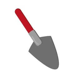 Single trowel icon vector
