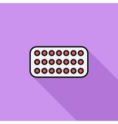 Contraceptive pills vector