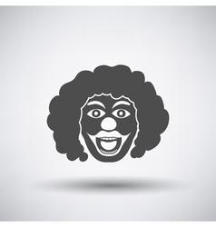 Party Clown Face Icon vector image