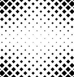 Seamless monochrome square pattern vector