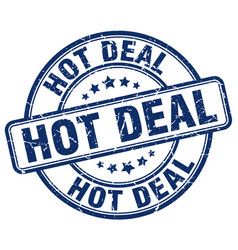 Hot deal stamp vector