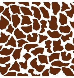 Seamless animal pattern for textile design vector image vector image