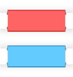 Website banner backgrounds vector image vector image