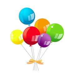 Icon balloon vector